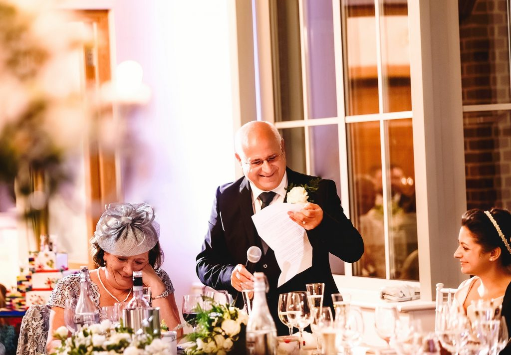 wedding speeches at botleys mansion