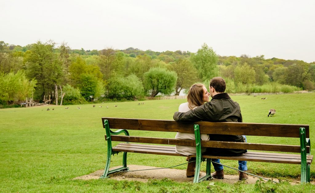 engagement session in brentwood